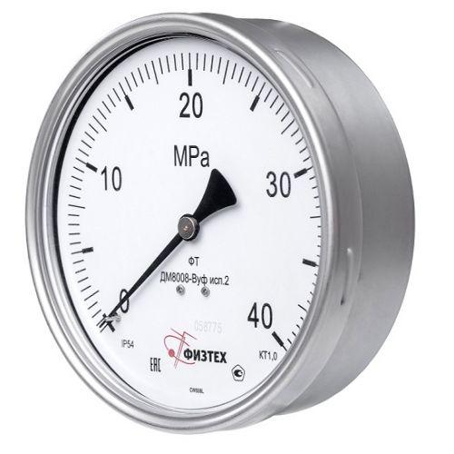 Виброустойчивые мановакуумметры - ДА8008-ВУф исп 2 ОШ