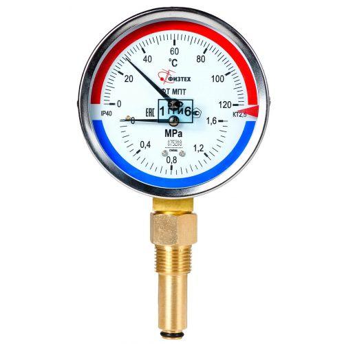 Термоманометры - МПТ d.80