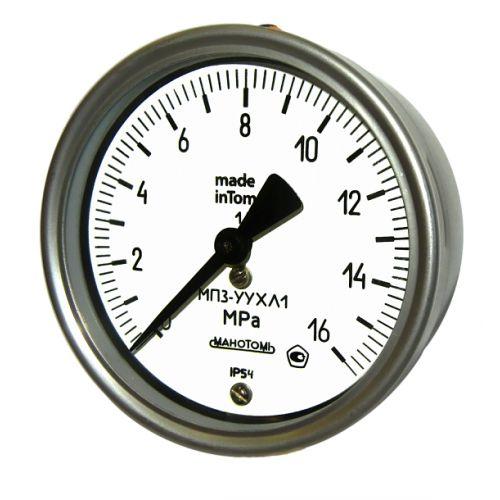 Технические манометры - МП3-УУХЛ1 ОШ