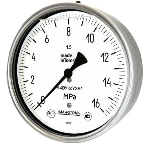 Коррозионностойкие вакуумметры - В-4ВУКс ОШ