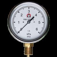 Давления газа - НМ-100