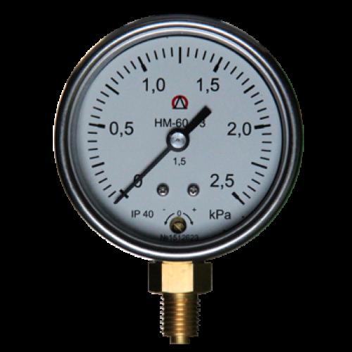 Давления газа - НМ-60