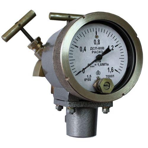 Дифференциальные манометры - ДСП-80В-РАСКО