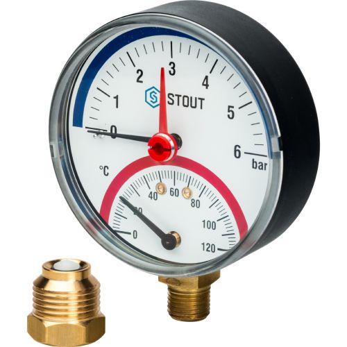 Термоманометры - SIM-0006-800615