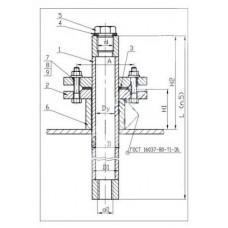 Закладные конструкции - ЗК4-1-14-95 (Труба защитная)