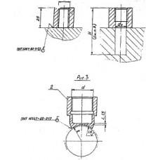 Закладные конструкции - ЗК4-1-16-95 (Бобышка)
