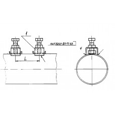 Закладные конструкции - ЗК4-1-17-95 (Прижим)