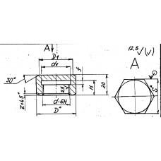Закладные конструкции - ЗК4-1-19-95 (Колпачок-Заглушка)