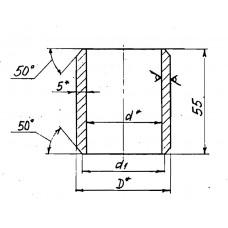 Закладные конструкции - ЗК4-1-20-95 (Бобышка)