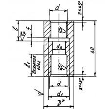 Закладные конструкции - ЗК4-1-22-95 (Бобышка)