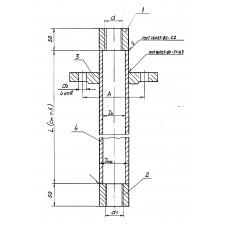 Закладные конструкции - ЗК4-1-26-95 (Труба защитная)