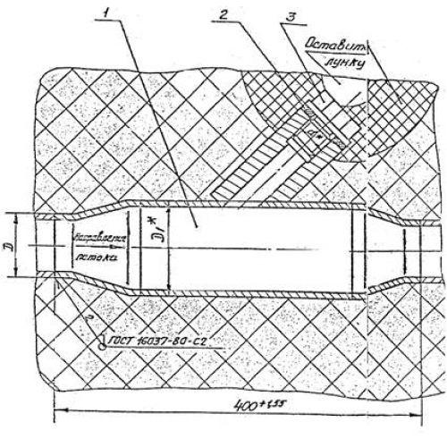 Закладные конструкции - ЗК4-4-87 (85) (Расширитель)