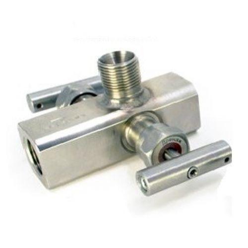 Двухвентильные клапанные блоки - БКН2-12