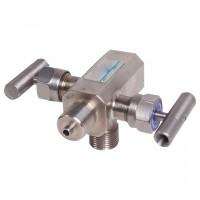 Двухвентильные клапанные блоки - БКН2-02