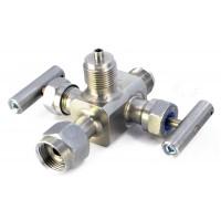 Двухвентильные клапанные блоки - БКН2-10