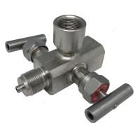 Двухвентильные клапанные блоки - БКН2-14