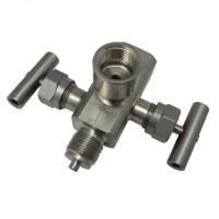 Двухвентильные клапанные блоки - БКН2-50