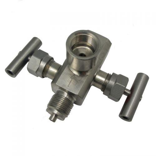 Двухвентильные клапанные блоки - БКН2-15