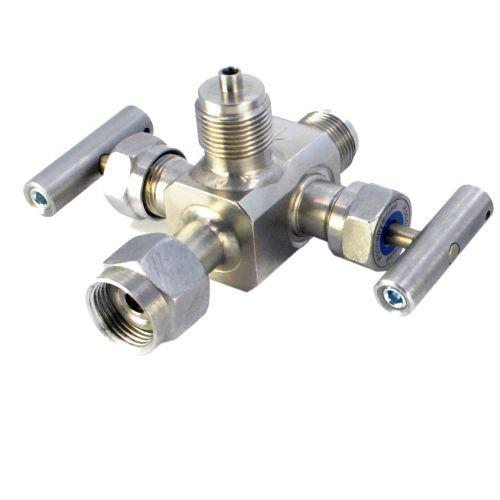 Двухвентильные клапанные блоки - БКН2-41