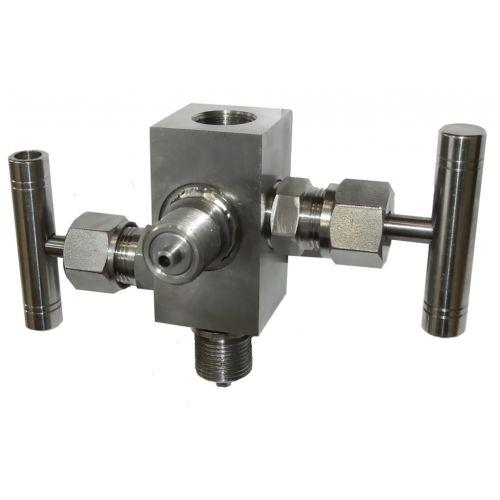 Двухвентильные клапанные блоки - БКН2-49