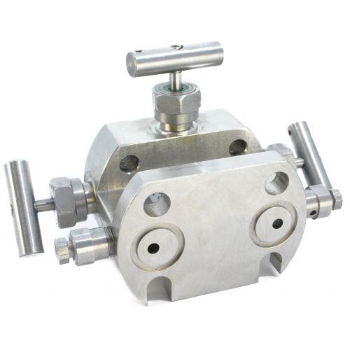 Трехвентильные клапанные блоки - БКН3-4-10
