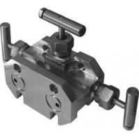 Трехвентильные клапанные блоки - БКН3-4-00