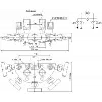 Пятивентильные клапанные блоки - БКН5-115-02