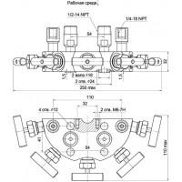 Пятивентильные клапанные блоки - БКН5-115-10