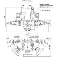 Пятивентильные клапанные блоки - БКН5-15