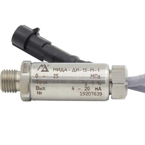 Датчики давления - МИДА-ДИ-15-М-1