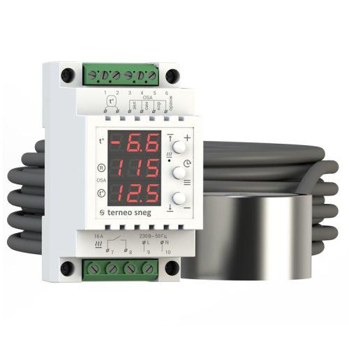 Цифровой терморегулятор - Terneo SNEG