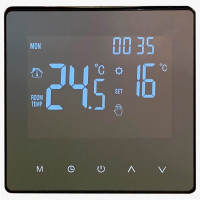 Цифровой терморегулятор - WarmLife Mirror (White)