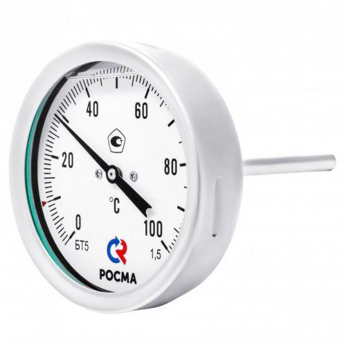 Биметаллические термометры - БТ-51.220 Силикон